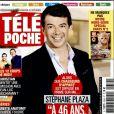 """Magazine """"Télé Poche"""" en kiosques le 23 janvier 2016."""