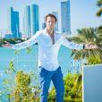 """Fabrice Sopoglian, parrain des candidats des """"Anges 9"""", photo officielle"""