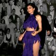 Kylie Jenner - People à la sortie du restaurant Catch à West Hollywood. Le 10 janvier 2017  Celebrities draw a huge crowd as they dine out at Catch restaurant in West Hollywood, California on January 10, 2017.10/01/2017 - West Hollywood