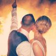 Thomas Buffel et Stéphanie De Buysser posent sur Instagram à l'occasion de leur mariage.