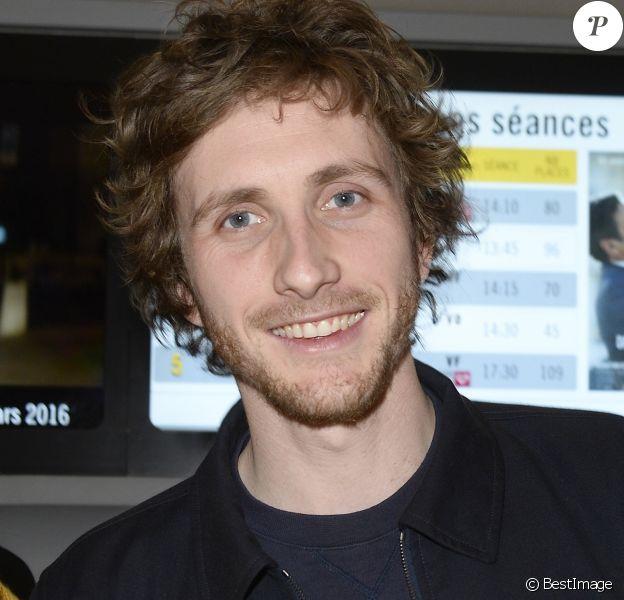 Baptiste Lecaplain Ouverture du 17ème Printemps du Cinéma au Pathé Beaugrenelle à Paris - Le 20 mars 2016