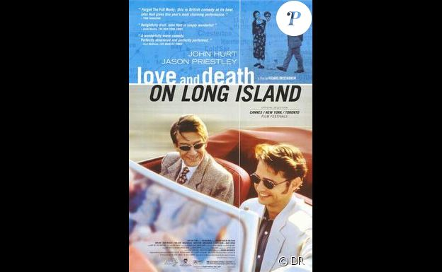 Jason Priestley et John Hurt se donnaient la réplique dans Amour et mort à Long Island, en 1997.