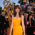 Saffron Burrows aux 60e Emmy Awards à Los Angeles en septembre 2008