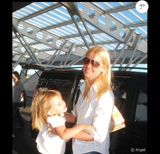 Valeria Mazza et ses enfants arrivent en Uruguay pour les vacances !