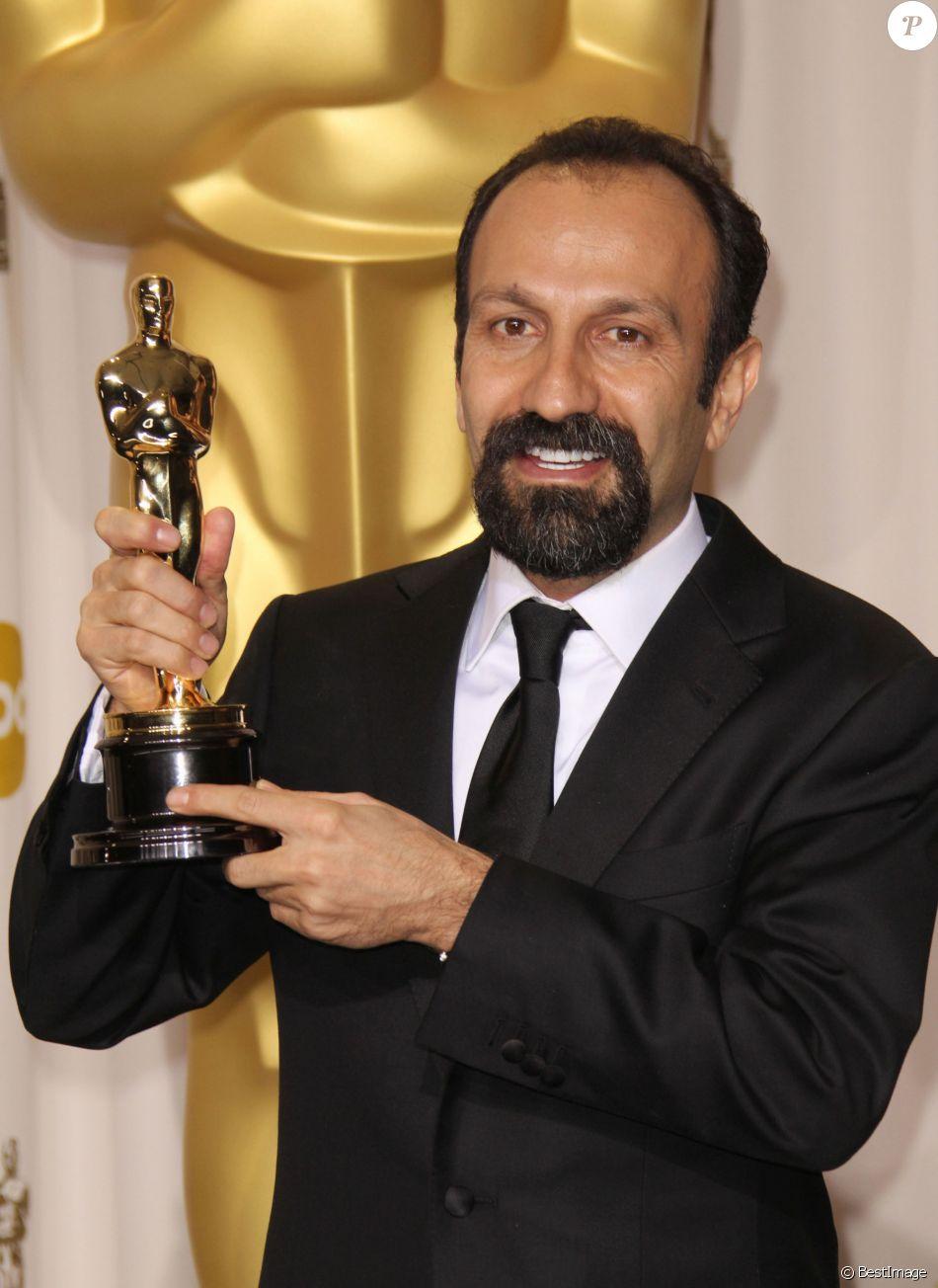 Asghar Farhadi aux Oscars 2012.