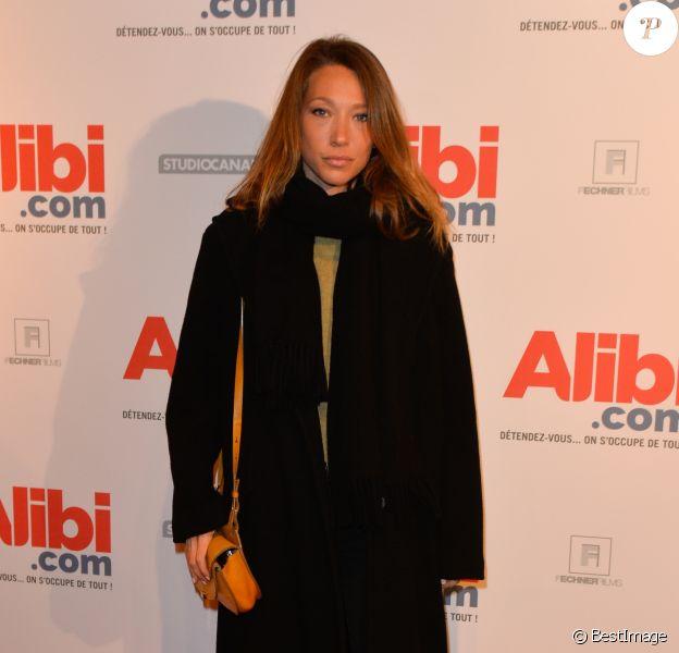 """Laura Smet - Avant-première du film """"Alibi.com"""" au cinéma Gaumont Opéra à Paris, le 31 janvier 2017. © Coadic Guirec/Bestimage"""