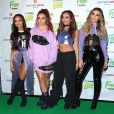 Perrie Edwards, Jesy Nelson, Jade Thirlwall et Leigh-Anne Pinnock du groupe Little Mix en Concert Free Radio Live à Birmingham le 26 novembre 2016