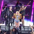 Lady Gaga en concert lors du Super Bowl au NRG Stadium à Houston, le 5 février 2017 © Dan Wozniak via Zuma/Bestimage