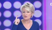 """Sophie Davant victime d'une arnaque, elle s'explique dans """"C'est au programme"""", le 7 février 2017 sur France 2."""