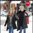 """""""Les stars à Aspen Mélanie Griffith et sa fille Stella"""""""