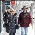 """""""Les stars à Aspen Goldie Hawn et Kurt Russel"""""""