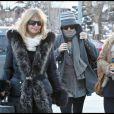 """""""Les stars à Aspen Goldie Hawn et sa fille Kate Hudson"""""""