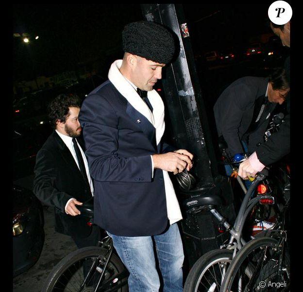 Billy Zane, le 31 décembre 2008.