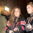 Kendall Jenner, Bella Hadid et Hailey Baldwin arrivent au 11, Fulton St pour assister à la soirée F is for... Fendi. New York, le 10 février 2017.