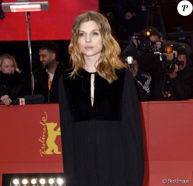 """Clémence Poésy à la première de """"Final Portrait"""" au 67ème Festival International du Film de Berlin, le 11 février 2017."""
