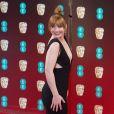 Bryce Dallas Howard - Arrivée des people à la cérémonie des British Academy Film Awards (BAFTA) au Royal Albert Hall à Londres, le 12 février 2017.