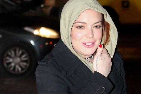 Lindsay Lohan : Pas encore convertie à l'islam, elle prône l'unité avec Trump