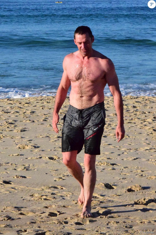 Photos : Hugh Jackman : une bombe la plage - Publicfr