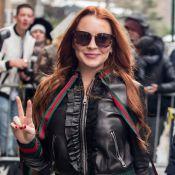 Lindsay Lohan : Radieuse à la Fashion Week de New York, elle soutient son frère