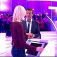 """Jean-Luc Reichmann accueille Claire - """"Les 12 Coups de midi"""", mercredi 15 février 2017, TF1"""