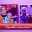 """Claire bat valérie - """"12 Coups de midi"""", mercredi 15 février 2017, TF1"""