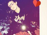 Gigi Hadid : Gros bouquet et selfie romantique pour la chérie de Zayn Malik