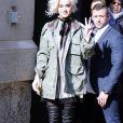 Katy Perry - Défilé Marc Jacobs automne-hiver 2017 à New York. Le 16 février 2017.