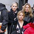 Lottie Moss (petite soeur de Kate Moss) et Ashley Benson - Défilé Marc Jacobs automne-hiver 2017 à New York. Le 16 février 2017.
