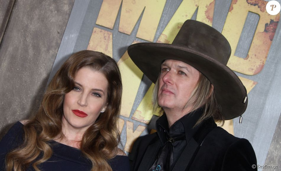 "Lisa Marie Presley et son mari Michael Lock­wood - Première du film "" Mad Max - Fury Road "" à Los Angeles Le 7 Mai 2015"