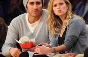 Quand Reese Witherspoon joue la supporter de choc... son amoureux Jake Gyllenhaal est éclaté de rire !