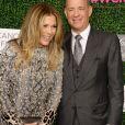 Rita Wilson et Tom Hanks lors d'une soirée caritative organisée au profit de l'organisationWomen's Cancer Research Fund à Los Angeles le 16 février 2017