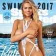 Kate Upton en couverture du magazine Sports Illustrated Swimsuit du mois de mars 2017.