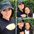 Denise Bidot, mannequin grande taille, veut montrer l'exemple à sa fille - Photo publiée sur Instagram au mois de février 2017