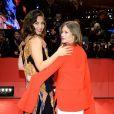Maggie Gyllenhaal et Julia Jentsch - Arrivées et cérémonie de clôture du 67e festival du film de Berlin le 18 février 2017