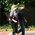 Rebecca Romijn et Jerry O'Connell le 25 juillet 2008