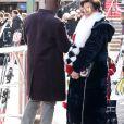 Kris Jenner et son compagnon Corey Gamble font du shopping avec Melanie Griffith à Aspen le 30 décembre 2016