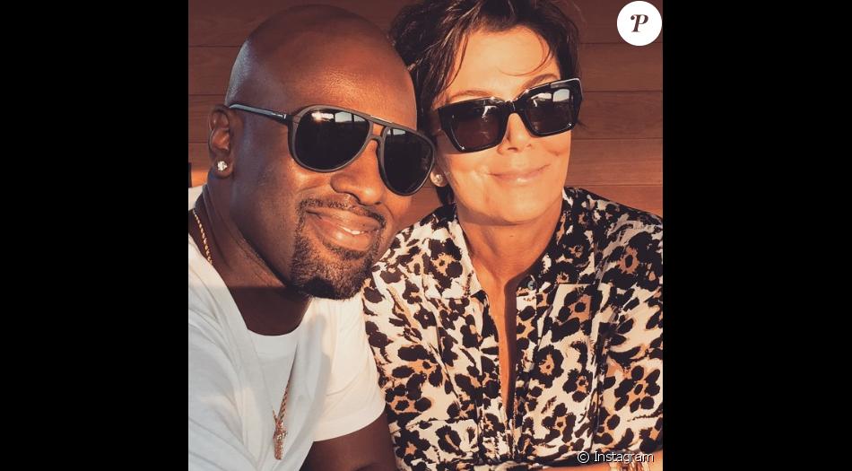 Corey Gamble et Kris Jenner en avril 2015. Le couple se fréquente depuis l'automne 2014.