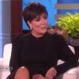 Kris Jenner sur le plateau de l'émission d'Ellen DeGeneres pour parler de sa relation avec Corey Gamble le 20 février 2017