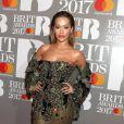 Rita Ora arrivant aux Brit Awards 2017 à Londres, le 22 février 2017.