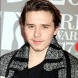 Brooklyn Beckham arrivant aux Brit Awards 2017 à Londres, le 22 février 2017.