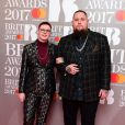 Rag'n'Bone Man aka Rory Grahamlors des BRIT Awards, à O2 Arena, Londres, le 22 février 2017.