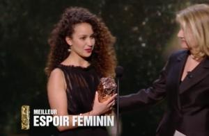 César 2017 : Oulaya Amamra, espoir en larmes, triomphe devant Lily-Rose Depp