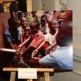 Photocall de   L'exposition qui revenait en images sur le Projet Kilifi lancé début 2016 par l'AMREF en partenariat avec la Fondation Princesse Charlène à   la soirée de gala de L'AMREF Flying Doctors à Monaco le 24 février 2017 © Claudia Albuquerque / Bestimage