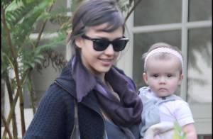 Jessica Alba : il n'y a décidement que sa fille qui la fasse sourire !