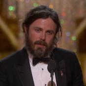 Oscars 2017 : Casey Affleck, consacré, clame son amour pour son frère Ben