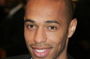 Thierry Henry... mannequin de charme au sourire ravageur !