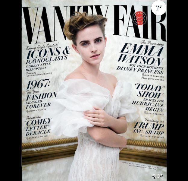 Emma Watson en couverture du magazine Vanity Fair édition américaine - mars 2017