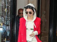 Fashion Week : Kendall Jenner à Paris, détendue avant ses défilés
