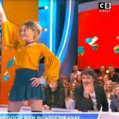 Capucine Anav : Sa culotte dévoilée pendant une danse sexy !