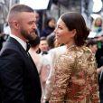 Justin Timberlake et sa femme Jessica Biel à la soirée des Oscar 2017 au Dolby theater à Los Angeles (Hollywood) le 26 février 2017. © Ampas/Zumapress.com / Bestimage